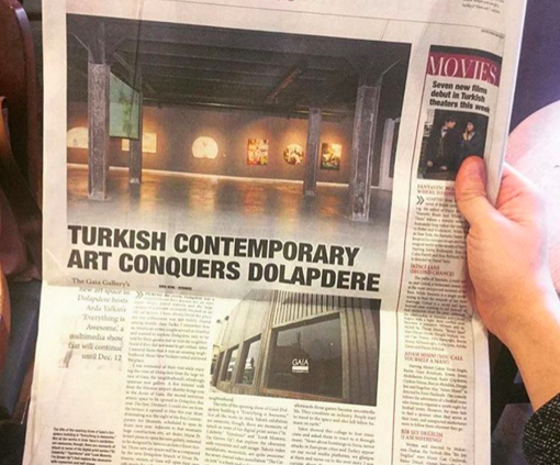 Gaia Gallery Dolapdere Daily Sabah