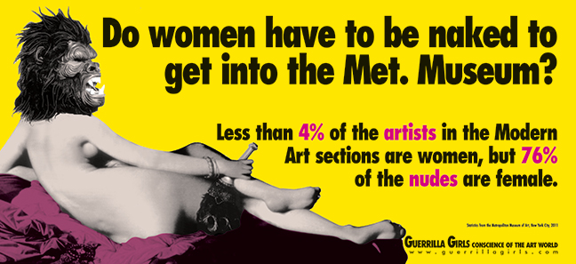 Guerrilla Girls - Do Women Still Have to be Naked to Get into-The Met.Museum