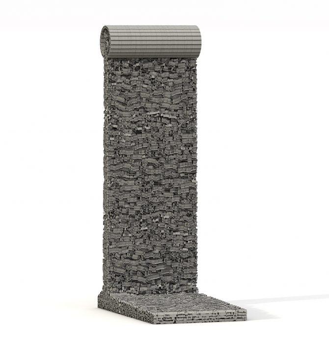 Erdal Inci - Berlin Wall: 1/1 Scale