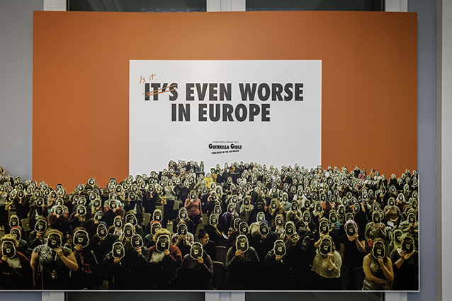 Guerrilla Girls - It's Even Worse in Europe 3