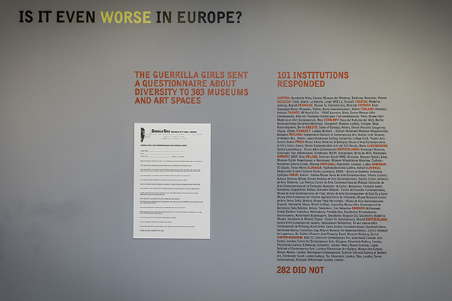 Guerrilla Girls - It's Even Worse in Europe 1